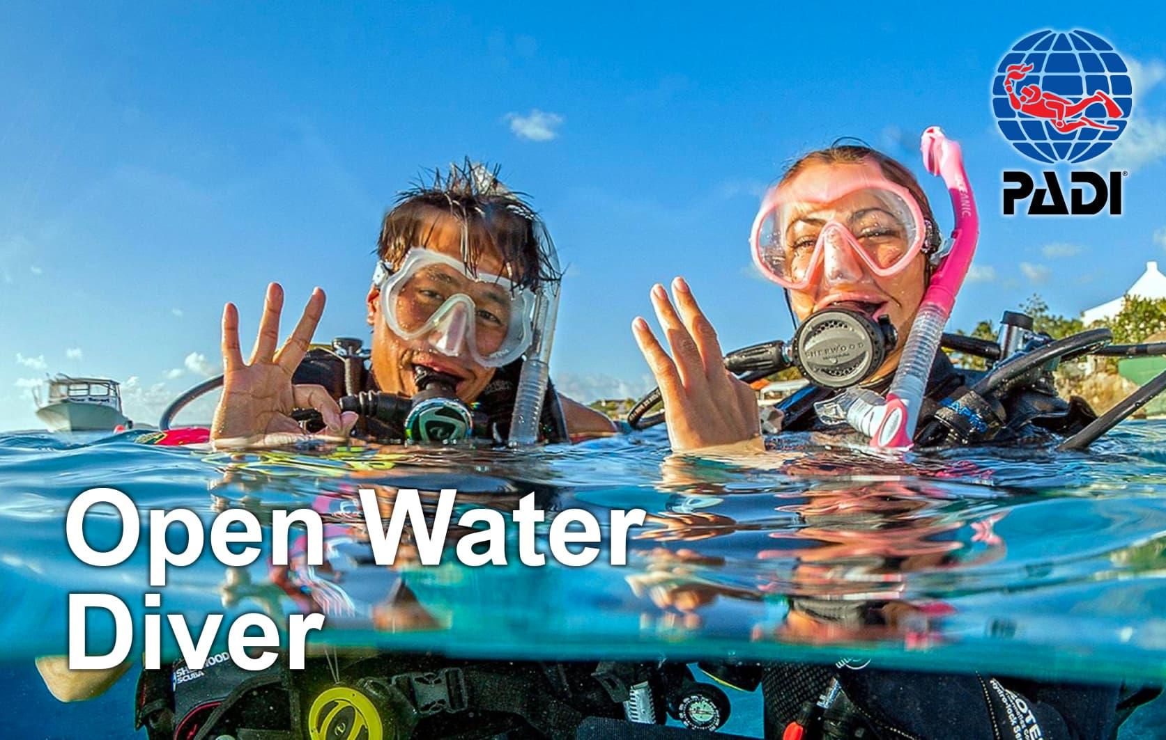 PADI Open Water Diver (OWD) - 09.07.-18.07.2021