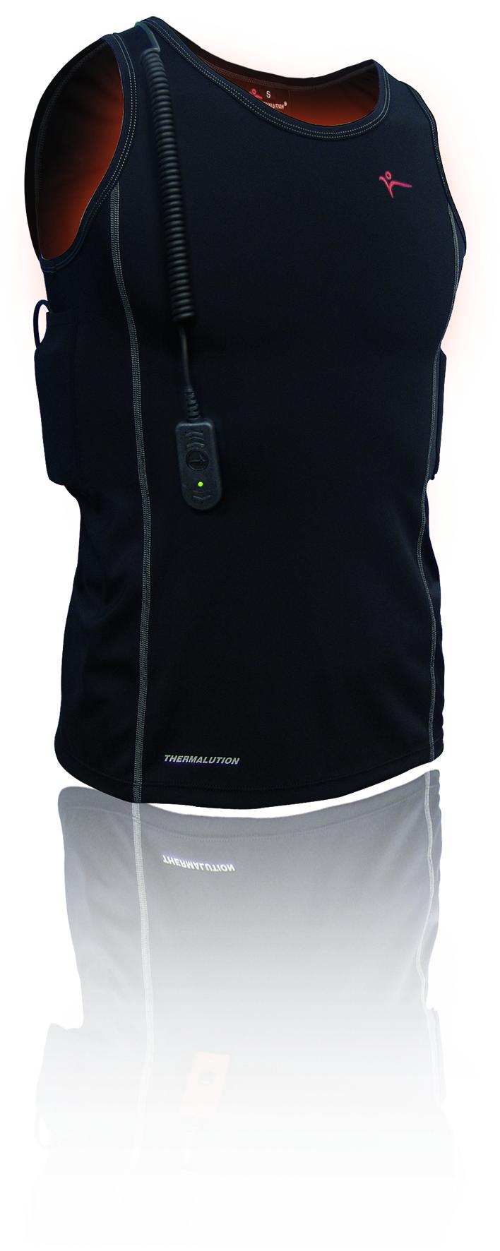 Thermalution Vest, Blue Grade
