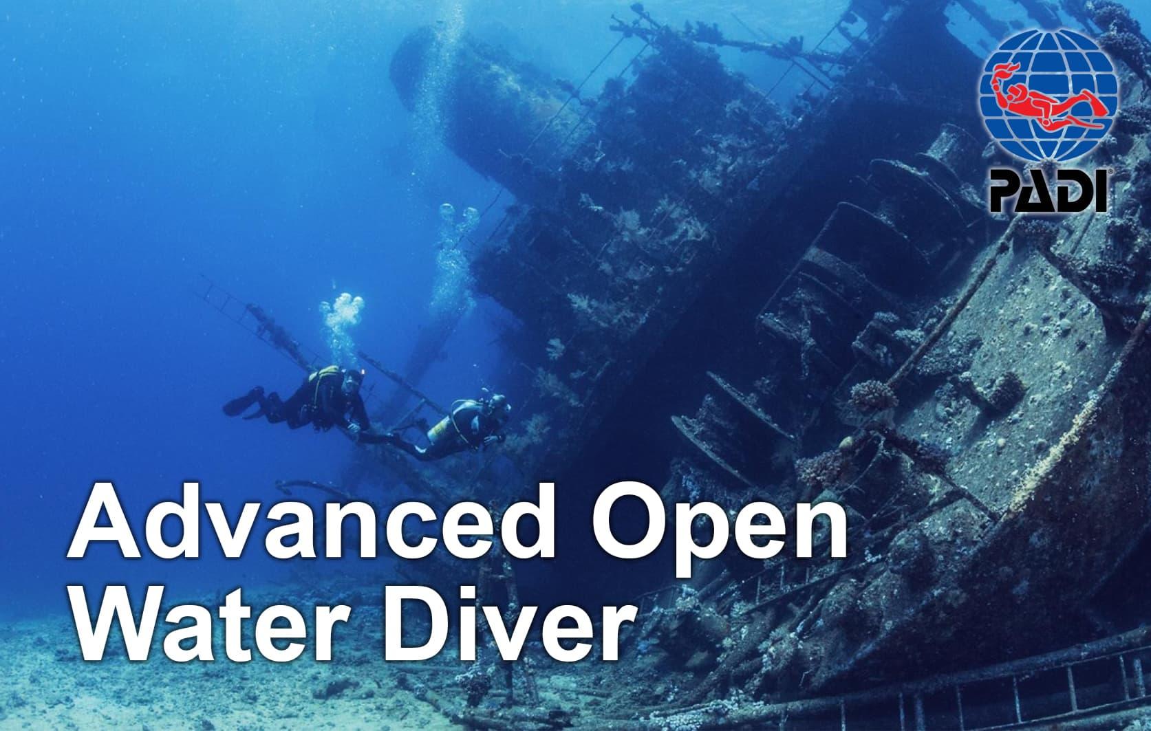 PADI Advanced Open Water Diver (AOWD) - 29.10.-01.11.2021